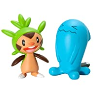 Pok�mon 2 Pack Small Figures Chespin vs Wobbuffet