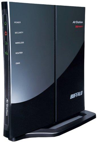 BUFFALO エアステーション 11n対応 11g&b 無線LANブロードバンドルーター WHR-G301NA