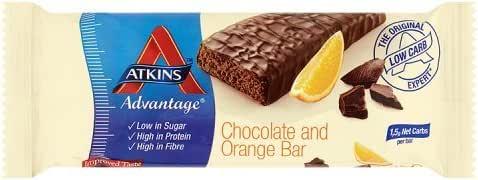 Atkins Advantage Choc Orange 60 g (order 16 for retail outer) / アトキンスアドバンテージチョコオレンジ60グラム(小売作者用のオーダ16 )