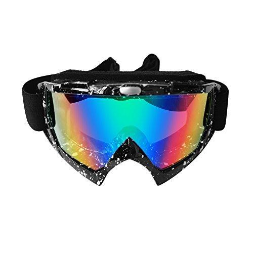 スキーオートバイゴーグル 紫外線防止 安全 目を保護 傷防止 防塵 オートバイゴーグル タクティカルシューティング スキー サイクリング 登山 スノーボード 乗馬 アウトドアスポーツアイウェア