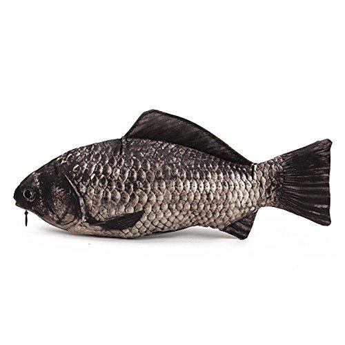 (デマ―クト)De・markt ペンケース 化粧ポーチ 魚ポーチ 化粧ポーチ アクセサリーポーチー 筆箱 小物入れ かわいい 魚