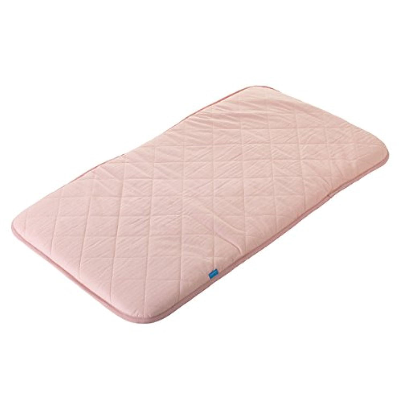 お昼寝マット 国産クールレイ 快適?清潔 ピンク