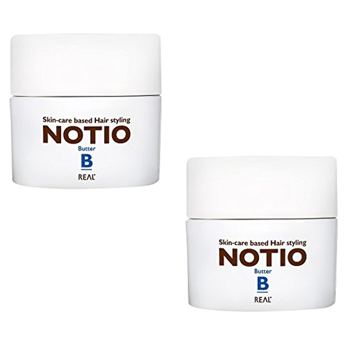 ジム色合い寄稿者【2個セット】 リアル化学 ノティオ バター 45g