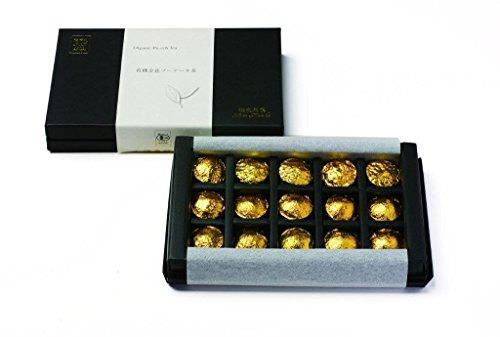 オーガニック 海東銘茶 有機 金花プーアール茶 ギフト 5g × 15個×6箱