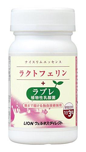 ライオン ナイスリムエッセンス ラクトフェリン+ラブレ 93粒入(約31日分)