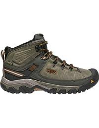 (キーン) KEEN Targhee III Mid Waterproof Hiking Boot - Wide メンズ ハイキングシューズ [並行輸入品]