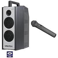 ユニペックス 800MHz帯防滴形ワイヤレスアンプ/ダイバシティ WA-872CD+WM-8400