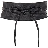 KRISP Women Obi Belt Waist Band Self Knot Tie Up Cinch One Size Fits All