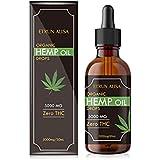 オーガニック hemp oil drops 5000MG /30ml 濃度16%(ヘンプオイル・ヘンプシードオイル)