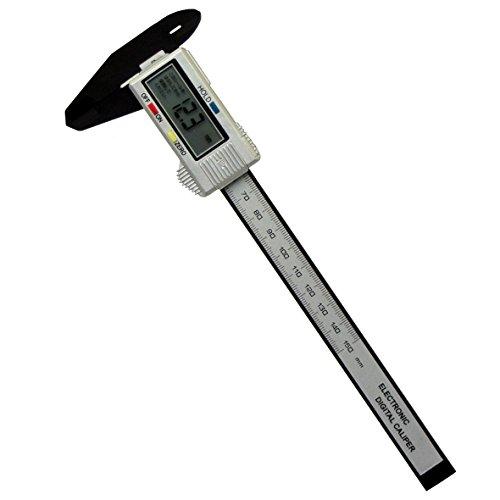 高儀 M&M デジタルノギス カーボンファイバー 150mm D...