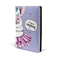 ブックカバー a5 豚 ダンス 星 かわいい 文庫 PUレザー ファイル オフィス用品 読書 文庫判 資料 日記 収納入れ 高級感 耐久性 雑貨 プレゼント 機能性 耐久性 軽量