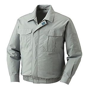 株式会社空調服 綿薄手長袖ワークブルゾン ワイドファンタイプ 電池ボックス仕様 M-500U LL モスグリーン