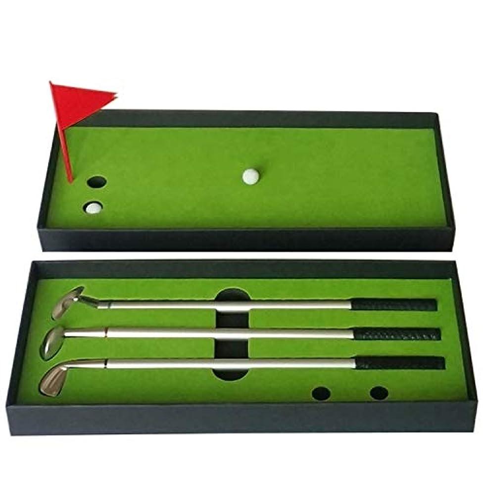 紳士ぶら下がる軽量ゴルフ用品 ゴルフミニパッティングマットコートプッシュロッドトレーナー、サイズ:24.5x10.5x3.5cm
