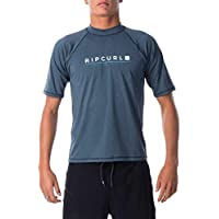 Rip Curl Men's Shockwave Relaxed SS UVT, Navy Marle