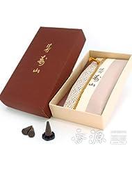 日本香堂のお香 沈香寿山 コーン型24個入