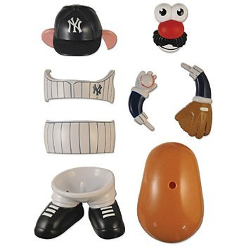 MLB ニューヨーク·ヤンキース ミスターポテトヘッド ニューデザイン 並行輸入品
