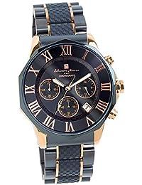 [サルバトーレマーラ] 腕時計 ウォッチ ロイヤルブルー クロノグラフ 10気圧防水 ビジネス フォーマル メンズ