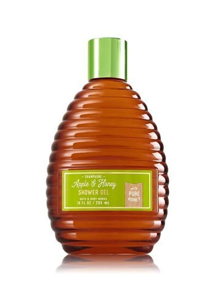 熱狂的なトピックパラナ川【Bath&Body Works/バス&ボディワークス】 シャワージェル シャンパンアップル&ハニー Shower Gel Champagne Apple & Honey 10 fl oz / 295 mL [並行輸入品]