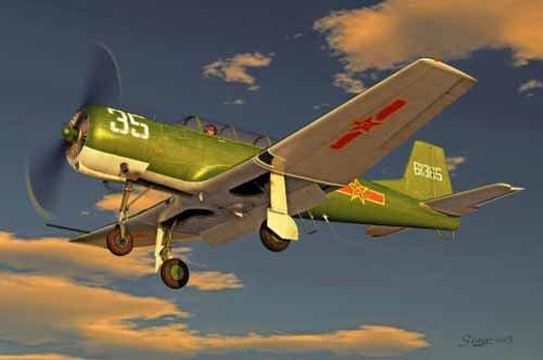 1/32 中国軍 ナンチャン CJ-6 初等練習機