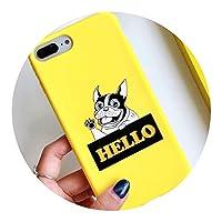 日本漫画犬適用iPhoneX携帯電話シェル,スタイル4,Apple 6Plus / 6sPlus