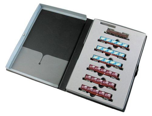 Zゲージ PRO Z EF65 (ぶどう色) コンテナ車両7両基本セット
