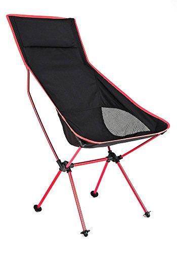 アウトドアチェア PONCOTAN ウルトラライト フィットチェア ハイバックタイプ 軽くて丈夫なジュラルミンチェアー コンパクト 折りたたみ キャンプ椅子 耐過重120kg 軽量 1.1kg