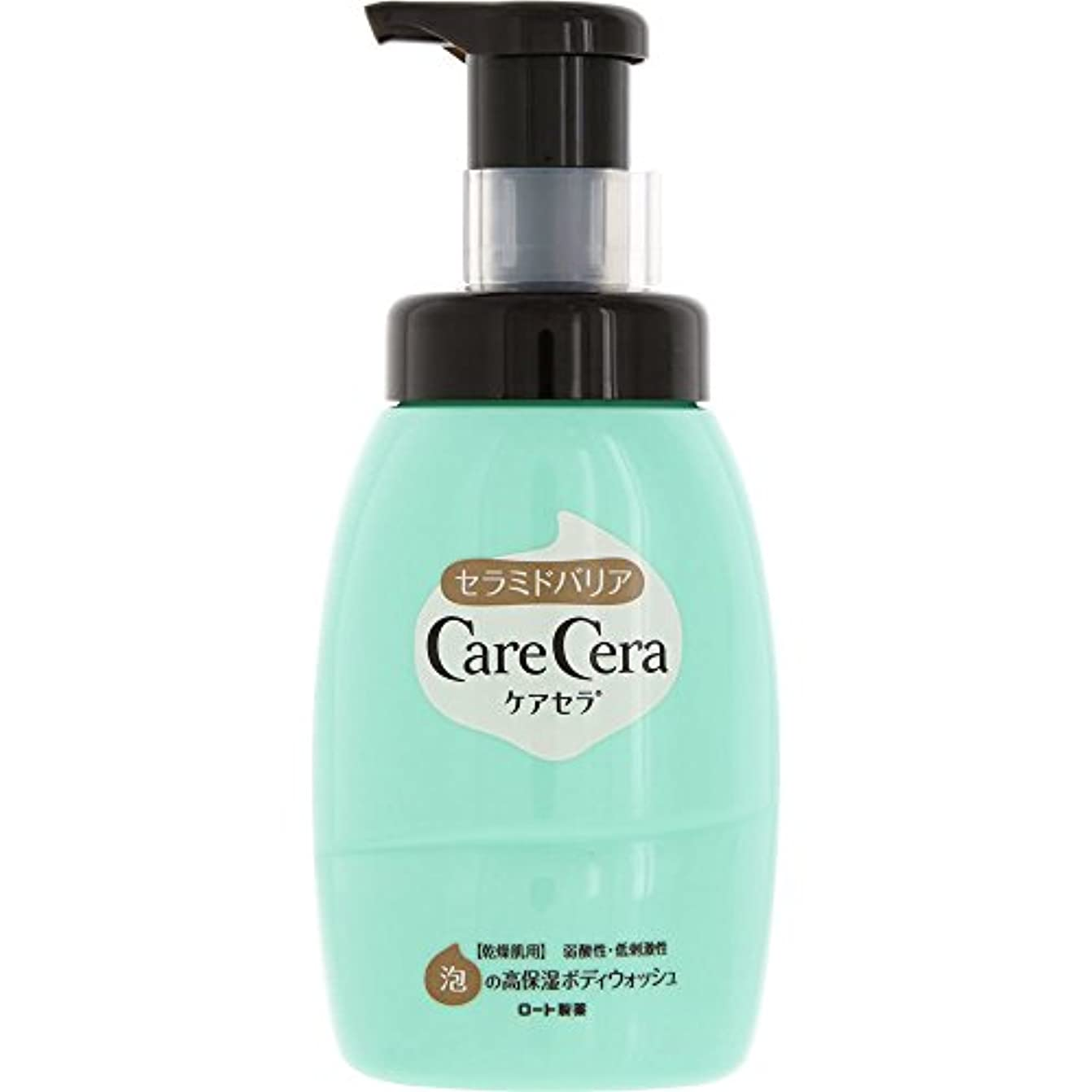ケアセラ(CareCera) ロート製薬 ケアセラ  天然型セラミド7種配合 セラミド濃度10倍泡の高保湿 全身ボディウォッシュ ピュアフローラルの香り お試し企画品 300mL