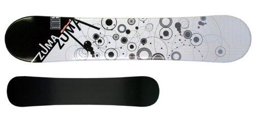 ツマ(ZUMA) 3点セット スノーボード WAVE-9 ホワイト158cm 金具M/L ブーツ28cm ワックス施工付き