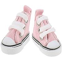 Baoblaze 1/6スケール バービー人形適用 付属品 キャンバス 靴