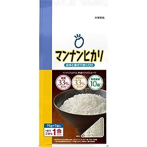 大塚食品 マンナンヒカリ スティックタイプ (75g×7袋入) 525g