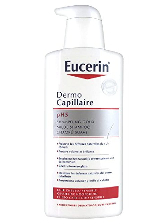 グレーできる厚さEucerin Dermo Capillary pH 5ジェントルシャンプー400ml