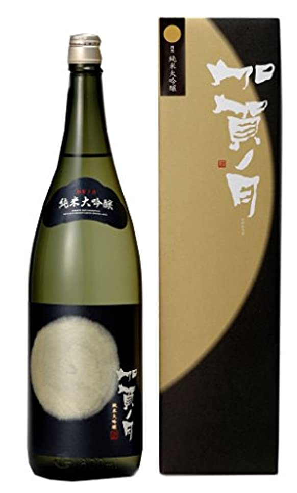 スパイ成り立つコモランマ加越 加賀ノ月 月光 純米大吟醸 [ 日本酒 1800ml ] [ギフトBox入り]