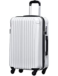 ラッキーパンダ スーツケース TY001 ハード 超軽量 TSAロック ファスナータイプ 機内持込