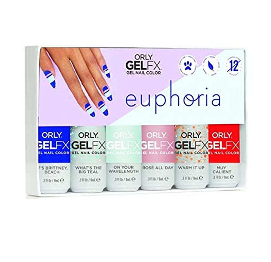 教目の前のミルクOrly GelFX - Euphoria 2019 Collection - ALL 6 Colors - 9mL/0.3oz EACH