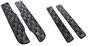 TOHPO ステップ カーペット セレナ 平成17年5月~現行(C25系・C26系共通) ブラック