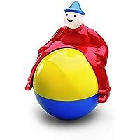 wanrane Cute Kids Roly - Polyおもちゃ面白い漫画セーフベビーキッズPramクラウン再生ボール教育玩具Magic Manギフト(カラフル)