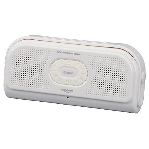 OHM Bluetooth 防水スピーカー ホワイト ASP-BT280N-W