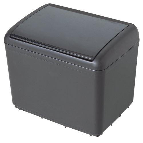 セイワ(SEIWA) 車用 ゴミ箱 ダストボックス ダストボックス4 おもり付き ブラック W333