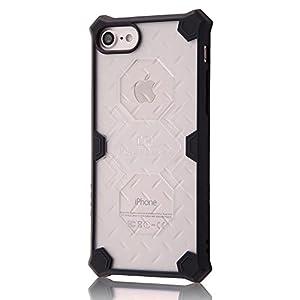 レイ・アウト iPhone7 ケース 耐衝撃 ケース クラッシュレジスト/クリア RT-P12SC2/C