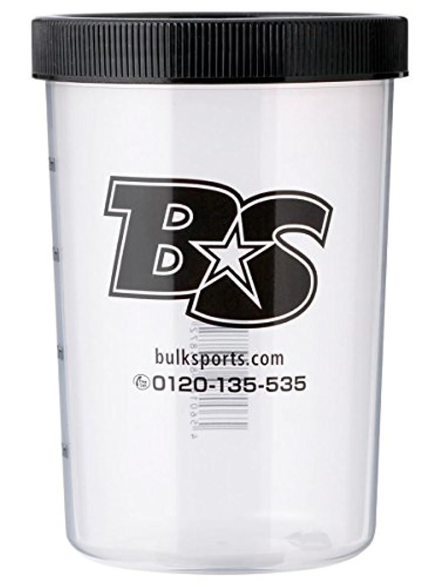 スクラッチ健康酔ったバルクスポーツ プロテインシェイカー BS STAR ロゴ入りシェイカーカップ(500ml)【日本製】