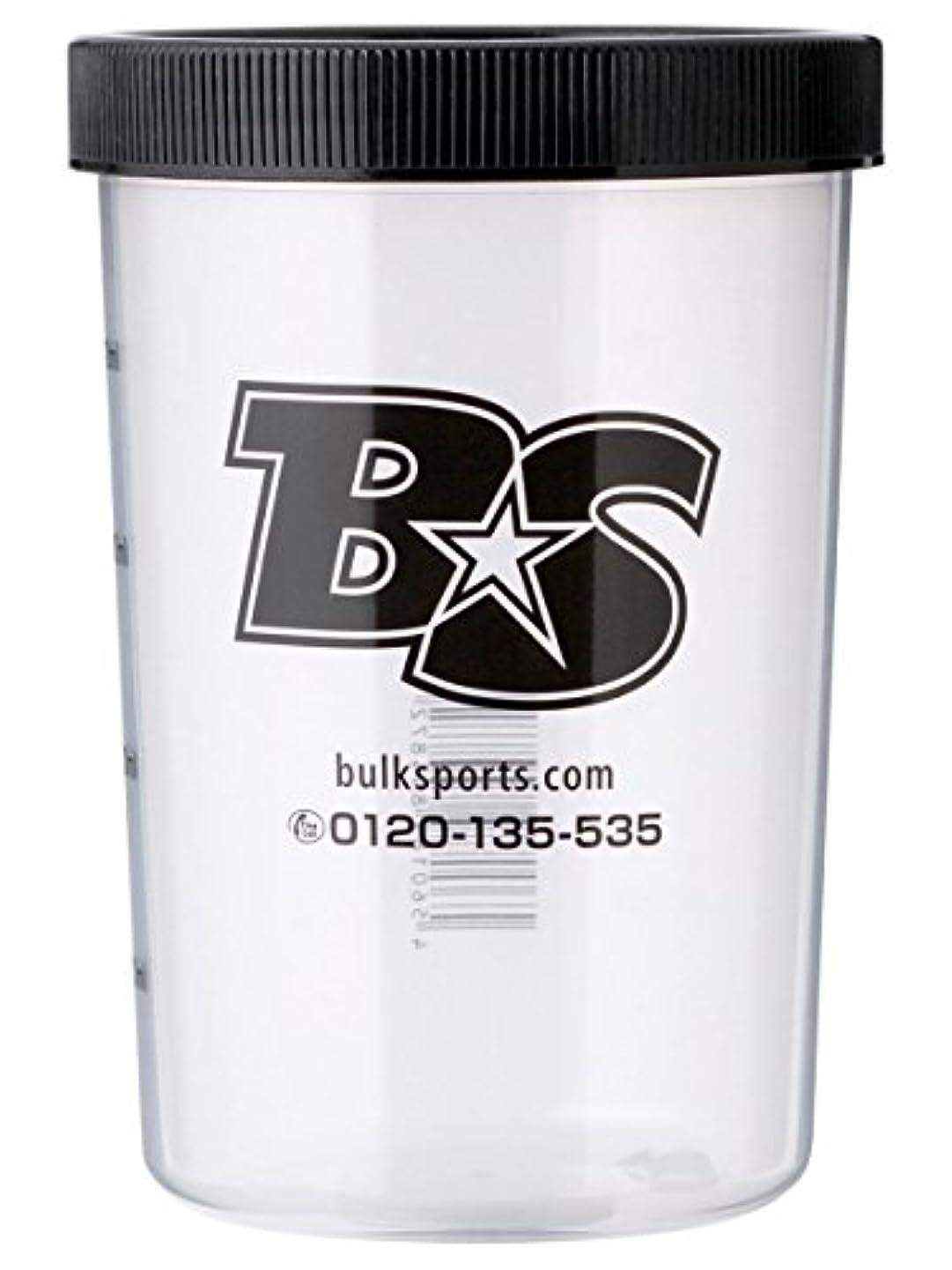 詐欺師鼻後世バルクスポーツ プロテインシェイカー BS STAR ロゴ入りシェイカーカップ(500ml)【日本製】