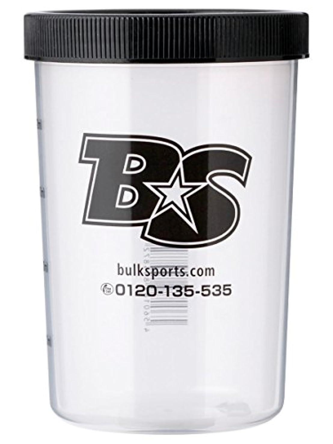 有毒な反乱バイパスバルクスポーツ プロテインシェイカー BS STAR ロゴ入りシェイカーカップ(500ml)【日本製】