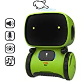 REMOKING STEM Educational Robot for Kids,Dance,Sing,Speak,Walk in Circle,Touch Sense,Voice Control, Learning Partners and Fun Playmates