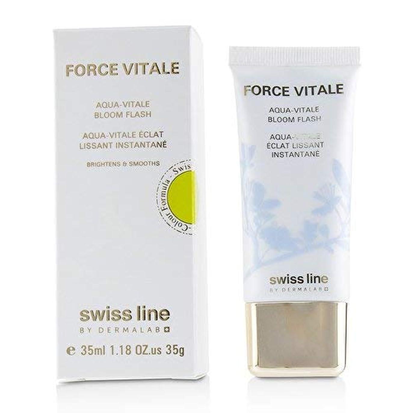 スクリュー検査官新鮮なスイスライン Force Vitale Aqua-Vitale Bloom Flash 35ml並行輸入品