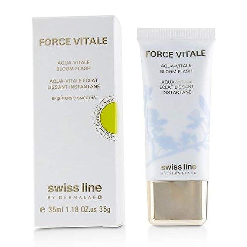 硬化する均等に刈るスイスライン Force Vitale Aqua-Vitale Bloom Flash 35ml並行輸入品