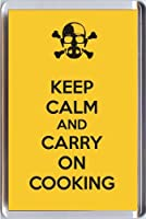 Yummy Grandmummy Keep Calm and Carry On料理から冷蔵庫マグネットOur Keep Calm and Carry On範囲。一意の誕生日やクリスマスストッキングフィラーGift Idea For AファンのThe Breaking Bad TVシリーズ。