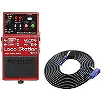 BOSS コンパクトエフェクター Loop Station RC-3 + 3m ギターケーブル VOX VGS-30 セット[マークスミュージック・オリジナル]