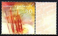 誕生日ケーキのグリーティング切手 ニュージーランド発行1種