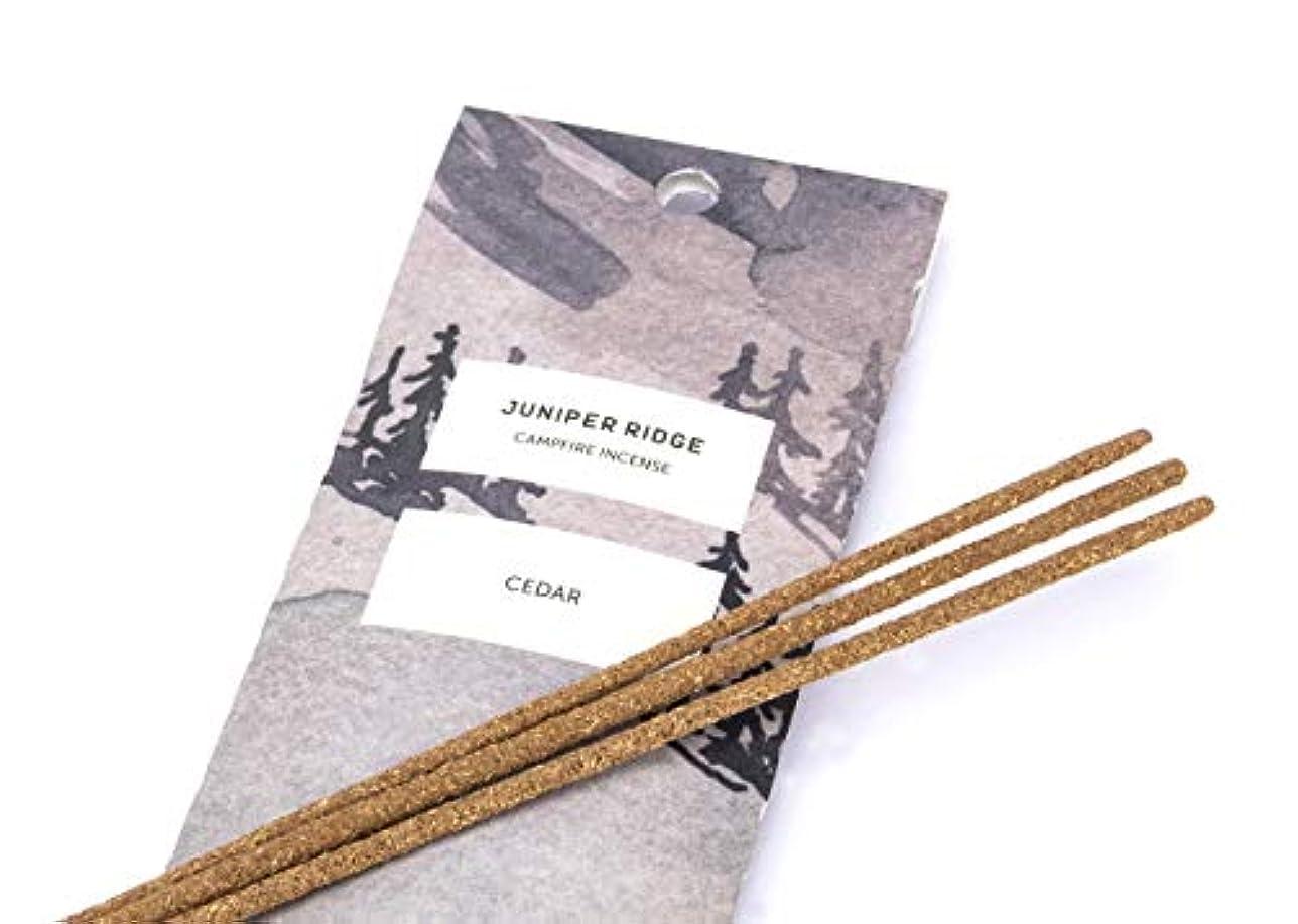 休戦減衰バッテリーJuniper Ridge Cedar Incense