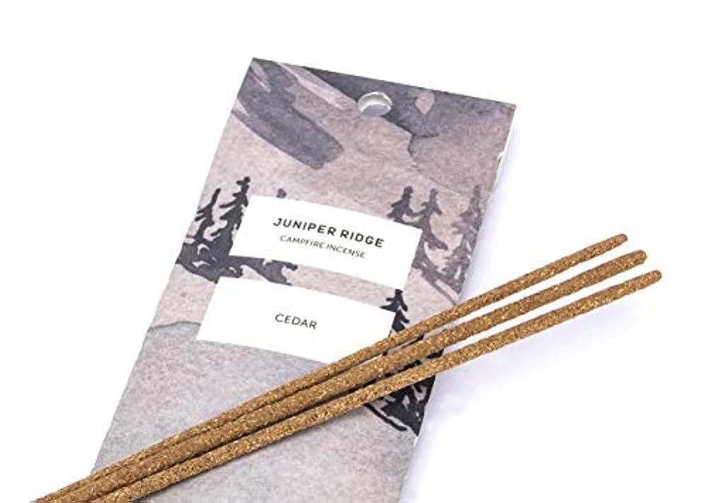 本物のメディック満員Juniper Ridge Cedar Incense
